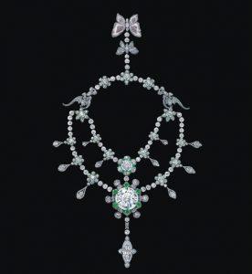 Collier heritage de fleur -bijoux les plus chers krossin