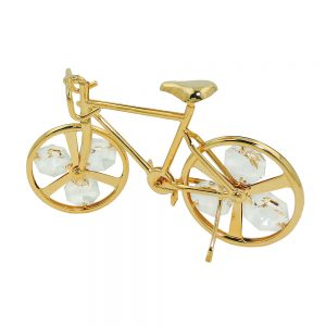 Bicyclette avec des elements de cristal 70666xx