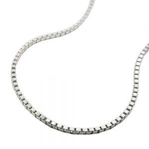 Boite a chaine diamantee en argent 925 Krossin bijoux en argent 42cm 106100 42xx