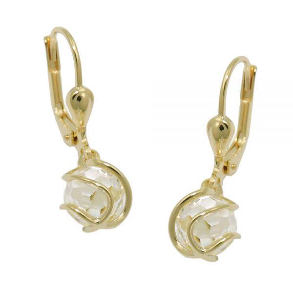 Boucles d oreilles Zircon  8k gold 431376xx