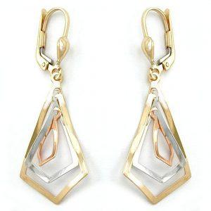 Boucles d oreilles a levier en or 9 carats 430937xx