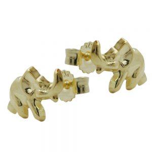 Boucles d oreilles elephants en or 9 carats 430883xx