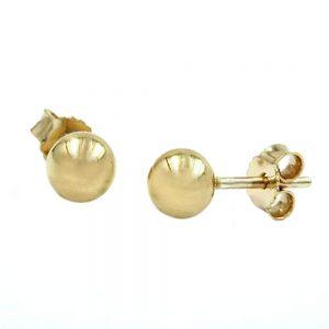 Boucles d oreilles pendantes 5mm 9k gold 430035xx