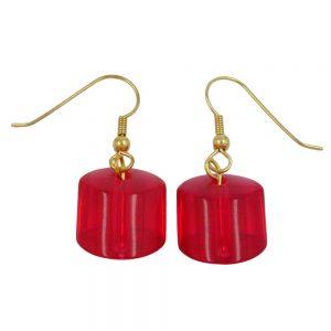 Boucles doreilles crochet boucles doreilles rouges 02499xx