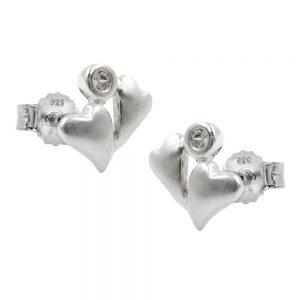 Boucles oreilles 2 ct argent 925 Krossin bijoux en argent 90042xx