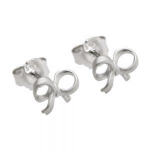Boucles oreilles arcs argent mat 925 Krossin bijoux en argent 93607xx