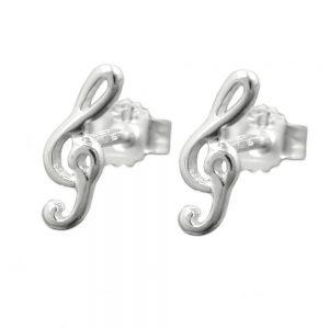 Boucles oreilles clef argent 925 Krossin bijoux en argent 90434xx