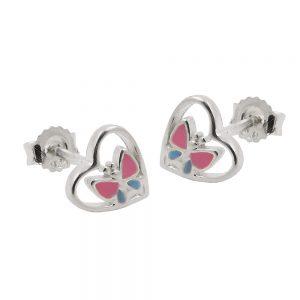 Boucles oreilles clous argent 925 Krossin bijoux en argent 93467xx