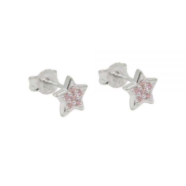 Boucles oreilles clous zircon argent 925 Krossin bijoux en argent 93706xx