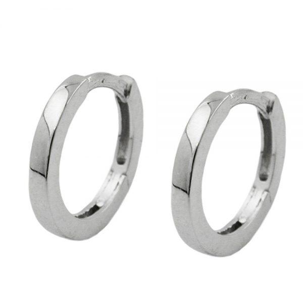 Boucles oreilles creoles 1.5mm argent 925 Krossin bijoux en argent 93271xx