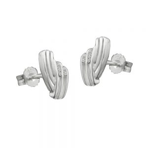 Boucles oreilles en Zircon argent 925 Krossin bijoux en argent 91363xx
