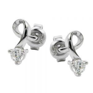 Boucles oreilles en Zircon argent 925 Krossin bijoux en argent 92344xx