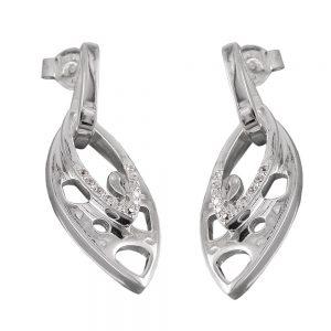 Boucles oreilles en Zircon argent 925 Krossin bijoux en argent 92763xx