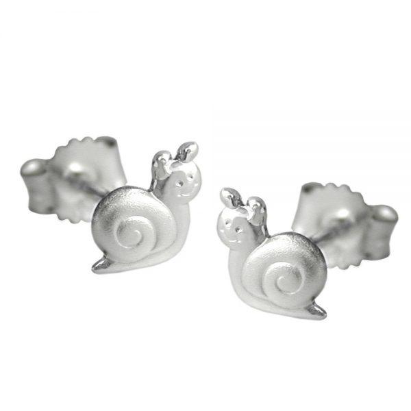 Boucles oreilles escargot argent 925 Krossin bijoux en argent 93181xx