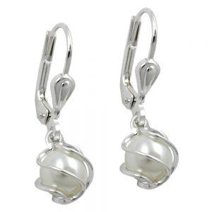 Boucles oreilles pendantes argent 925 Krossin bijoux en argent 90821xx