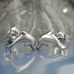 Boucles oreilles pendantes dauphins argent 925 Krossin bijoux en argent 93350x