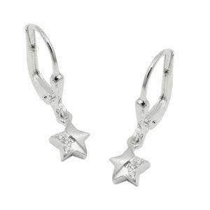 Boucles oreilles pendantes en Zircon argent 925 Krossin bijoux en argent 93662xx