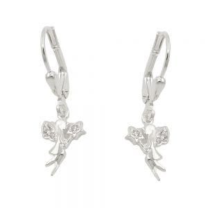 Boucles oreilles pendantes en Zircon argent 925 Krossin bijoux en argent 93798xx