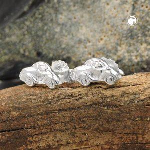 Boucles oreilles pendantes petite voiture argent 925 Krossin bijoux en argent 93643x