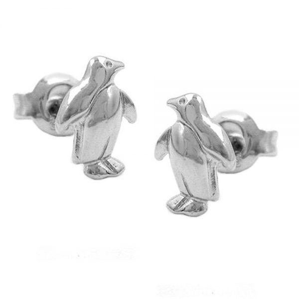 Boucles oreilles pendantes pingouin argent 925 Krossin bijoux en argent 93259xx