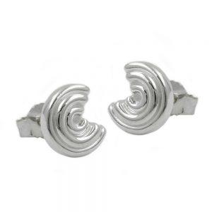 Boucles oreilles pendantes rondes en argent 925 Krossin bijoux en argent 91923xx