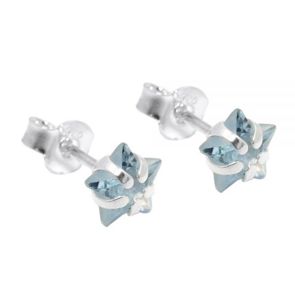 Boucles oreilles pendantes star  Argent 925 Krossin bijoux en argent 93529xx