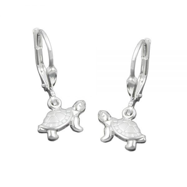 Boucles oreilles pendantes tortues argent 925 Krossin bijoux en argent 91174xx