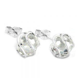 Boucles oreilles perle Zircon argent 925 Krossin bijoux en argent 93245xx