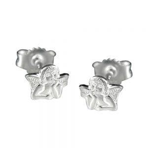 Boucles oreilles petit ange en argent 925 Krossin bijoux en argent 90583xx
