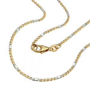 Bracelet 19cm chaine mariner or 14 carats 505009 19xx
