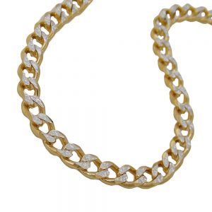 Bracelet 19cm ouvert bordure 14k or 501000 19xx