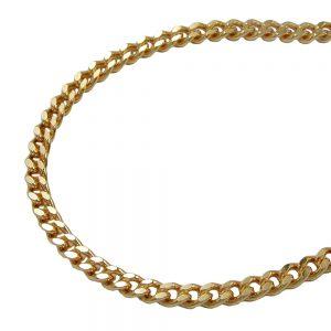 Bracelet Gourmette diamant taille en plaque or 201801 19xx