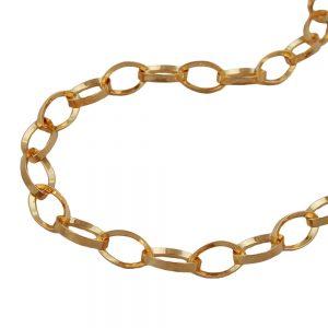 Bracelet ancre chaine plaque or 211005 19xx