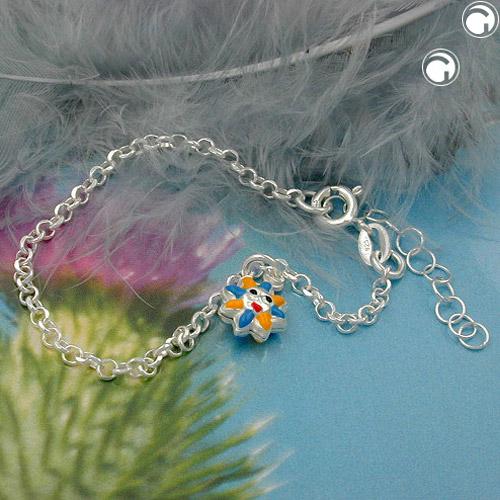 Bracelet ancre chaine soleil argent 925 Krossin bijoux en argent 111023x