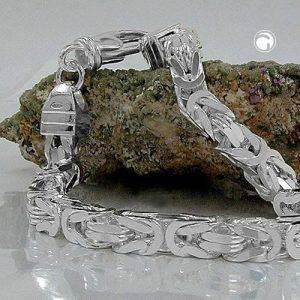 Bracelet byzantin chaine argent 925 Krossin bijoux en argent 137003 21x