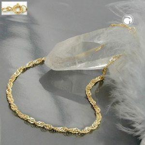 Bracelet chaine 19cm en or 9 carats Krossin bijoux or 518002 19x