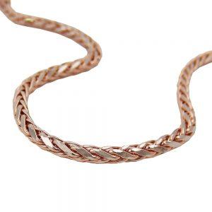 Bracelet chaine de ble 19cm 14k rouge or 539000 19xx