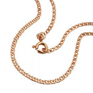 Bracelet chaine mariner 19cm 14k rouge or 19cm 503002 19xx