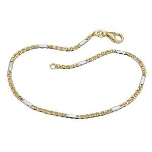 Bracelet chaine mariner 19cm en or 9 carats 505008 19xx