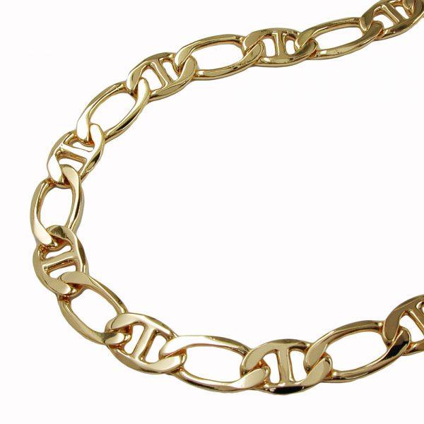 Bracelet chaine mariner diamant taille or plaque 21cm 205006 21xx