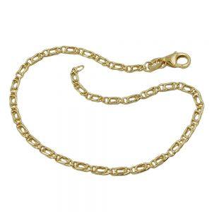 Bracelet oeil de tigre 19cm 9k or 527000 19xx