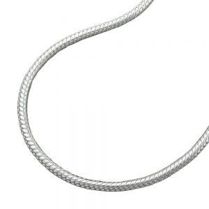 Chaîne serpent ronde 1.5mm argent 925 Krossin bijoux en argent 40cm 119006 40xx