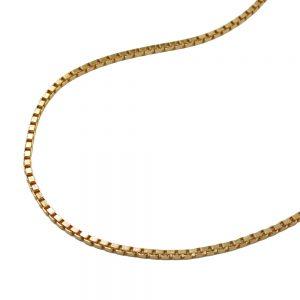Chaine de boite venitienne diamantee en plaque or 206100 38xx