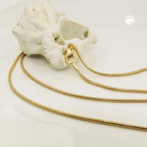 Chaine de serpent 50cm 1.2mm 14k or Krossin bijoux or 519006x