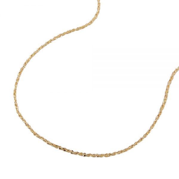 Chaine fine fantaisie 45cm or 14 carats 530007 45xx