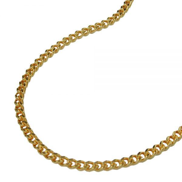 Chaine gourmette en diamant plaque or 201501 60xx