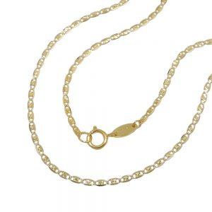 Chaine mousseux fantaisie 45cm or 9 carats 530008 45xx