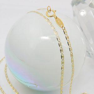 Chaine mousseux fantaisie 45cm or 9 carats Krossin bijoux or 530008x