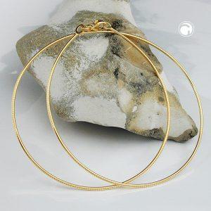 Chaine ronde 45cm en or 9 carats Krossin bijoux or 538000x