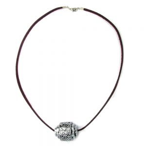 Collier accrocheur perle chrome 01571xx